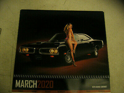 2020 Muscle Car And Girls Calendar Free Shipping