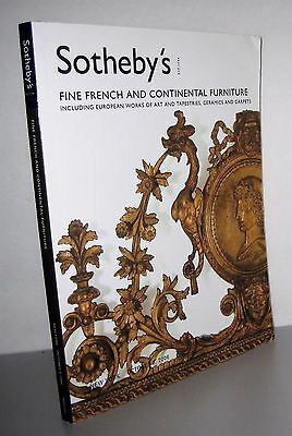 Sotheby's Fine French & Continental Furniture, Art, Tapestries, ceramics, carpet
