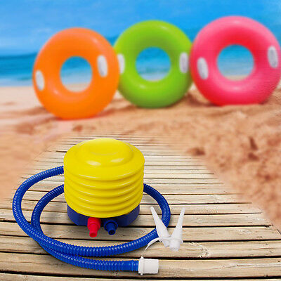 NEW Inflator Foot Air Pump Pillow Balloon Swimming Ring Inflatable Toy Ball GP3