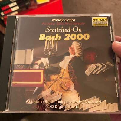 Wendy Carlos ~ All-New 25th Anniversary SWITCHED_ON BACH 2000 ~ CD clean copy