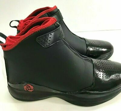 **NEW** ADIDAS D Rose 773 Basketball Men's Athletic Shoes Black/Red Size 9.5