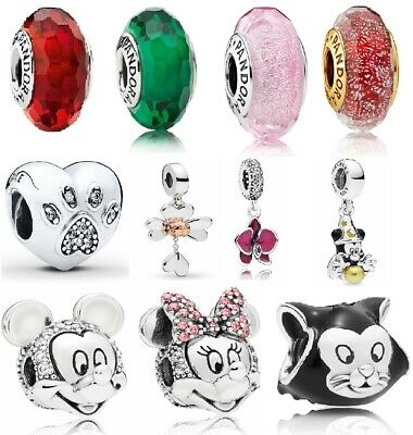 4# New Authentic Genuine PANDORA Charms ALE S925 Sterling Silver Free Soft Pouch