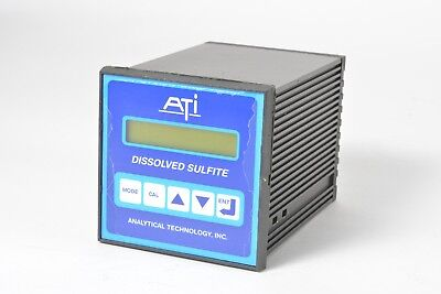 ATI Analytical Technology Dissolved Sulfite Controller