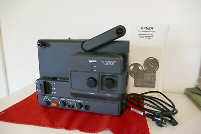 Bauer T192 Automatic Duoplay Super 8 / N8 Filmprojektor aus Nachlass