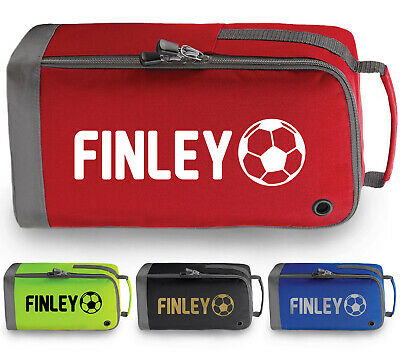 Personalised Football Boot Bag Childrens Mens Sports Footy Rugby Boys PE Kit