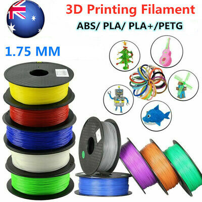 1.75mm 3D Printer Filament PLA/ PETG/ABS Accuracy +/- 0.02mm 2.2 LBS 1KG  Spool