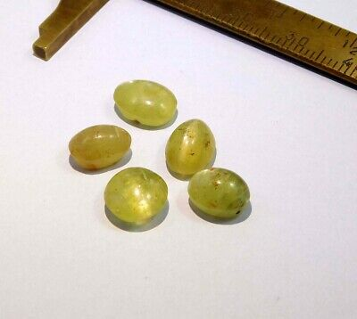 16 Cts. 100% Natural Lot Of Cat's Eye Loose Cabochon Gemstone NG21550