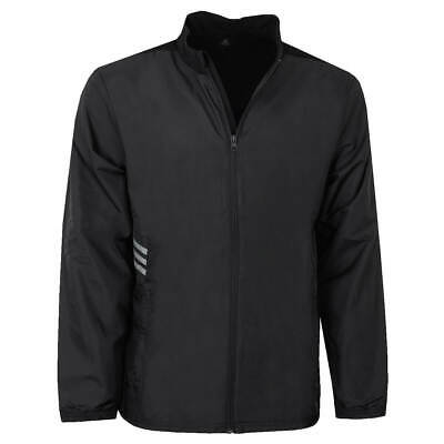 adidas Mens Essentials FZ Windproof Water Resistant Jacket 45% OFF RRP
