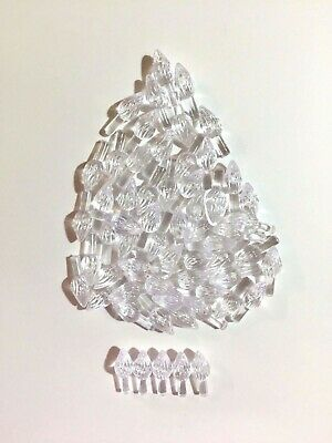 60 CLEAR MEDIUM TWIST BULBS Ceramic Christmas Tree Lights Replacement