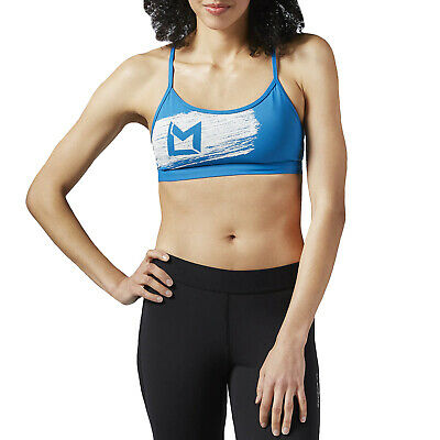 WOMEN'S REEBOK LES Mills BodyPump Long Bra Training Tank Top