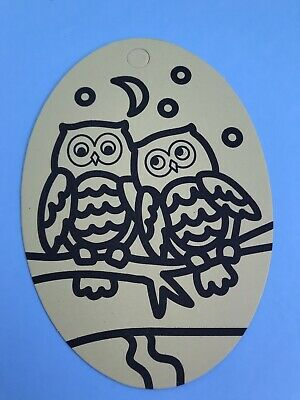 Kids Bee Happy Owls Oval Sand Art Kit Birthday/Party Bag/Stocking Fillers