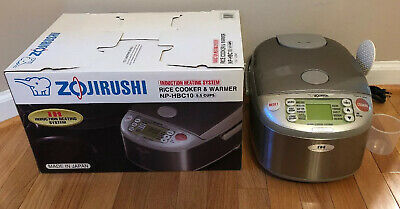 Zojirushi NP-HBC10 5.5 Cup Rice Cooker Warmer Induction Heating System 1 L Nice