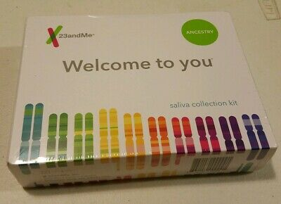 BRAND NEW SEALED 23andMe DNA Test ANCESTRY Personal Genetic  EXP 05/2021