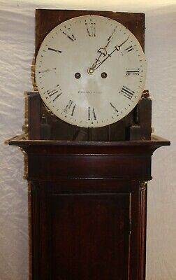 1880's 8 Day Grandfather Clock with Mahogany Case from Leominster