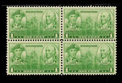 Oas-Cny 06722 Army-Navy Issue 1936 Scott 790 $0.01 Jones Barry Mnh