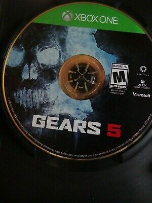 Gears of War 5 Disc Only