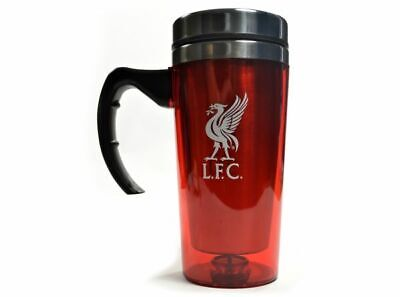 Official Liverpool Football Club With Handle Tea Travel Mug Thermos Flask