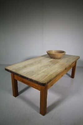 English Antique Sycamore Coffee Table