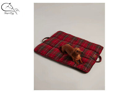 Joules Heritage Tweed Travel Mat Soft Dog Pet Bed All Sizes FREE Delivery