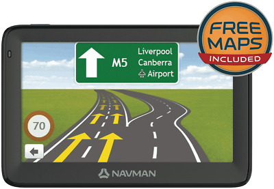 "NEW Navman 4496200 Move120M 5"" GPS"