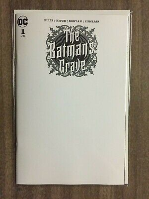 The Batman's Grave #1 (of 12) Cover C Blank Variant NM