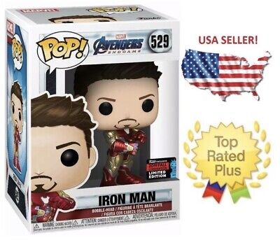 NYCC FUNKO POP Marvel Iron Man Tony Stark with Gauntlet shared Exclusive Amazon