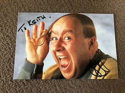 Gregor Fisher (The Baldy Man) Signed Cast Card