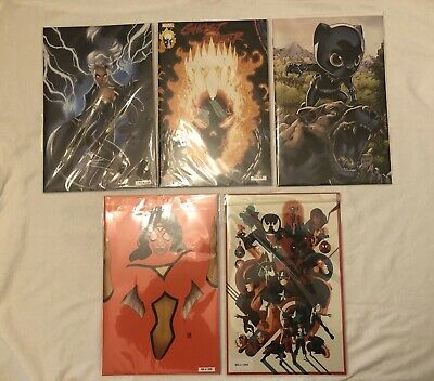 NYCC 2019 Exclusive Marvel 5 Comic Set: Ghost Rider Strikeforce House Of X More!