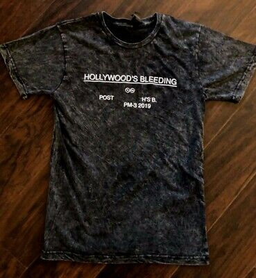 Hollywood's Bleeding Vintage Fade T-shirt Post Malone T Shirt  Psycho Better