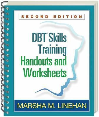 DBT Training Handouts and Worksheets SPIRAL BOUND 2/e by Marsha Linehan   10419