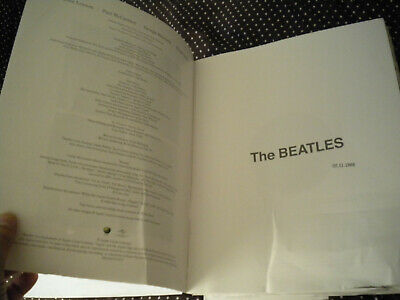 The Beatles White Album Super Deluxe Book Only No Cds No Discs Damaged