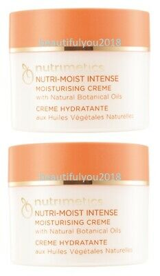 Nutrimetics Nutri-Moist Intense Creme 125Ml X 2 Rrp $98