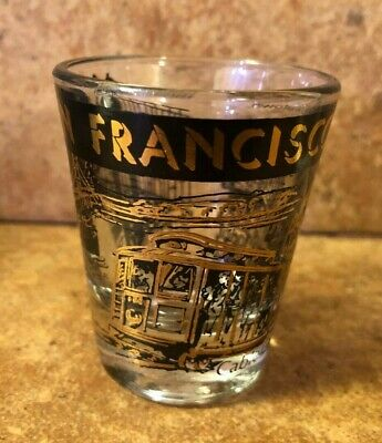 Vintage San Francisco shot glass