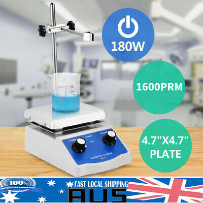 Hug Flight Magnetic Stirrer Mixer Hotplate 12x12 cm Top Plate with Heating