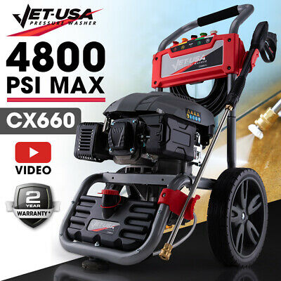 Jet-USA 4800PSI Petrol-Powered High Pressure Cleaner Washer Water Jet Power Hose