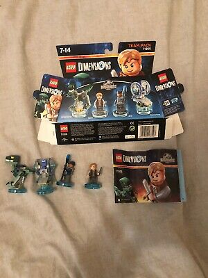 Jurassic Park World Lego Dimensions 71205 Team Pack Xbox One 360 Ps3 Ps4 Wii U