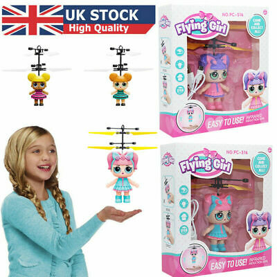 LOL Flying Girls Surprise Doll Magic Infrared Induction Control Kids Toys Gifts