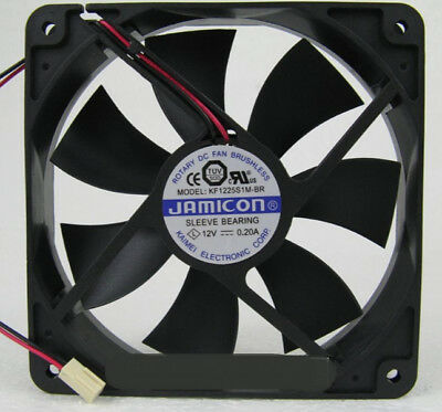 Delta 12025 12V 0.45A WFB1212H 12cm miner chassis cooling equipment fan 2 wire