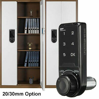 Keyless Cabinet Door Drawer Lock Battery Power Home Office Safety Security Code