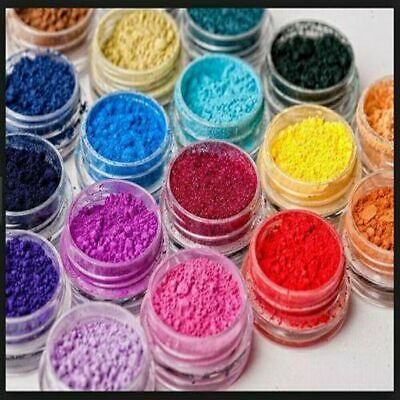 100% Edible Food Colouring Powder Lustre 10g All Colour Water Soluble Color cake