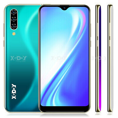 "6.26"" 2+16GB Android 9.0 Dual Sim Smartphone Quad Core Unlocked Cell Phone XGODY"