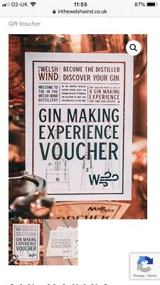 Gin making experience voucher for two