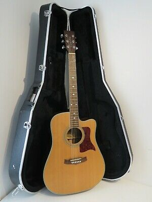 Tanglewood TW15-CE B Electro Acoustic Guitar with Gator Hard Case
