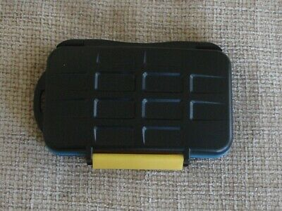 Compact Memory Card Case. Holds Many Different Memory Cards.