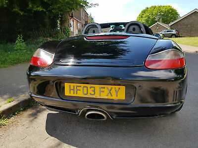 Porsche Boxter 2.7 - Black - Black Leather 82,000 miles - Beautiful Car