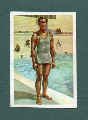Duke Kahanamoku 1964 - Spanish Issue Nestle Los Juegos Olimpicos #69