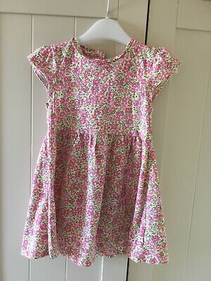 Baby Girls Pretty Floral Dress Tunic Mothercare 18-24 Months
