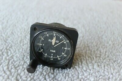 Waltham watch co. Aircraft Elapsed Time gauge