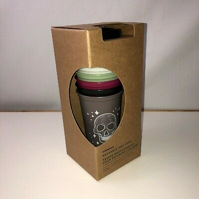 Starbucks 2019 Fall Halloween Reusable Hot Cups Limited Edition NEW IN HAND
