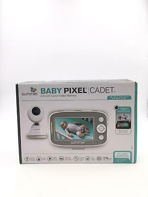 Summer Infant Baby Pixel Cadet Video Baby Monitor with 4.3-Inch Color Display